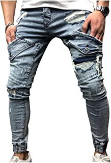 Amazon Es Pantalones Rotos Hombre