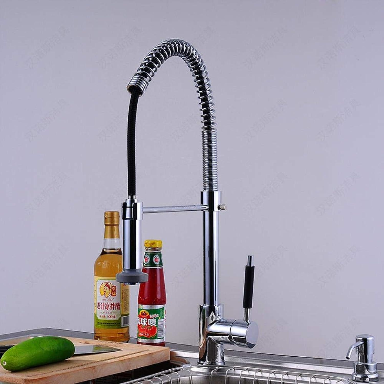 Kai&Guo ly Produkt massivem Messing spülbecken Wasserhahn mit hei kalt poliert Chrom küchenmischbatterie von Deck montiert küche Wasserhahn,