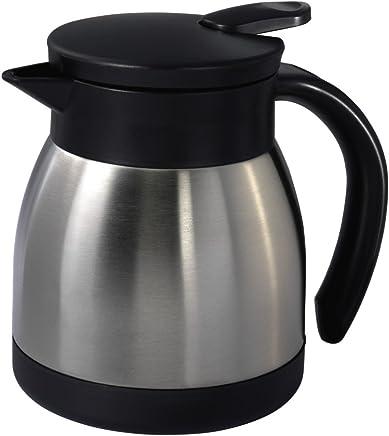 Xavax Thermoskanne klein (400 ml, Isolierkanne aus Edelstahl, für Kaffee & Tee, Höhe 12,5 cm) preisvergleich bei geschirr-verleih.eu