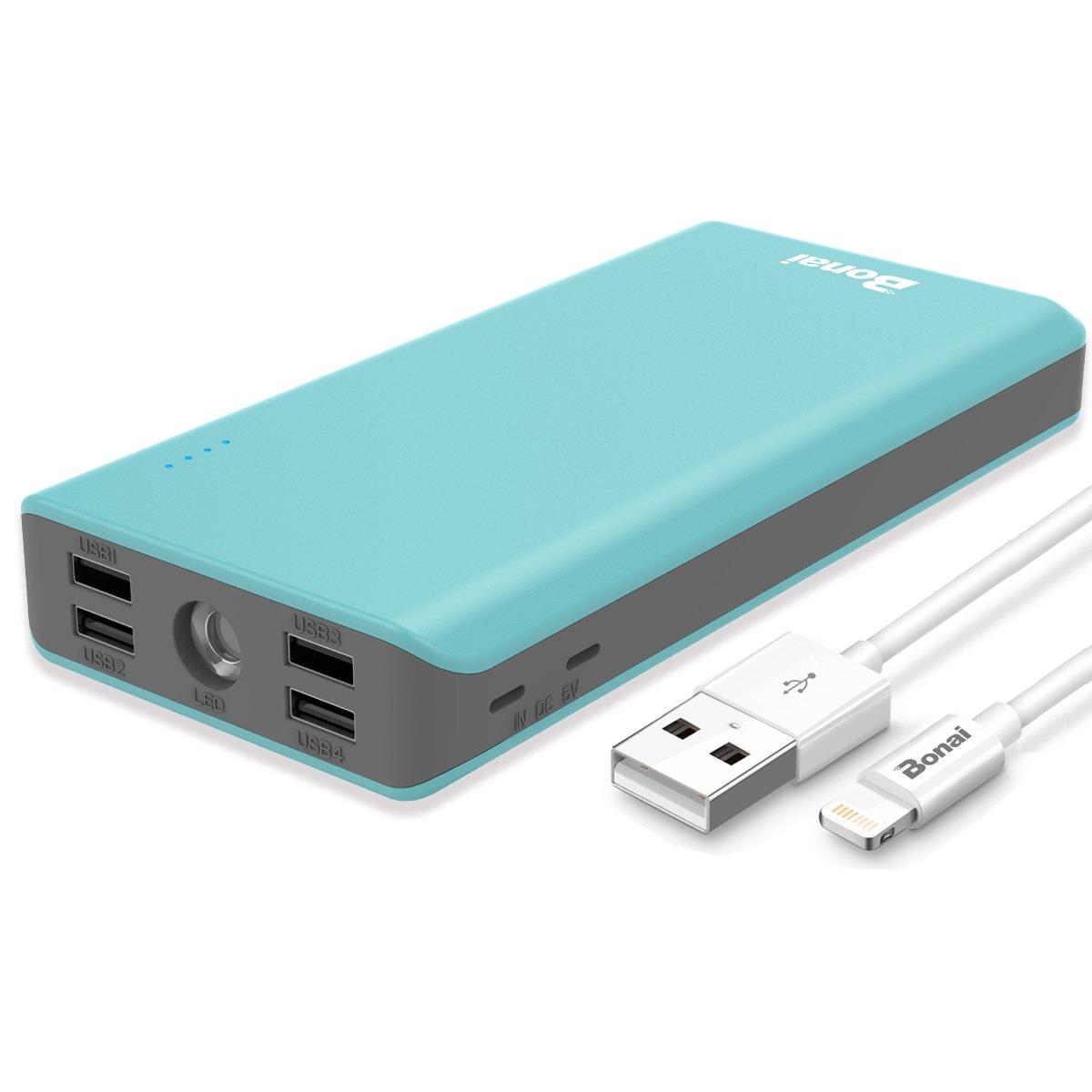 Portable 30000mAh Flashlight BONAI Compatible
