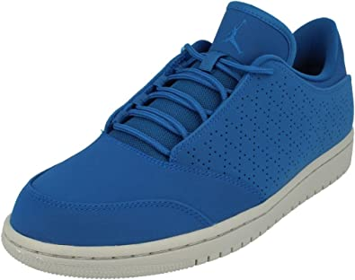 Nike Air Jordan 1 Flight 5 Low Mens Basketball Trainers 888264 Sneakers Shoes (UK 7.5 US 8.5 EU 42, Team Royal 403)