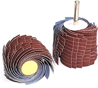3 Stück Klappenräder Schleifklappenrad Schleifscheibe 6mm Drehwerkzeug