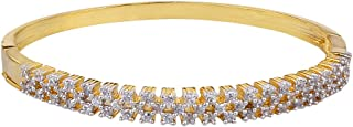 Aradhya Big Girls' Daily Wear Fashion Gold Plated Ad Bracelet