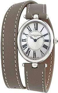Frederique Constant Classics Art Deco Quartz Silver Dial Ladies Watch FC-200MPW2V26