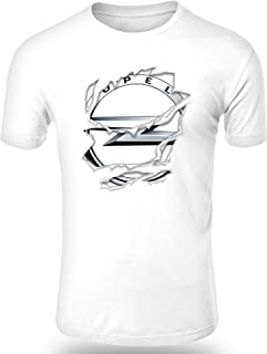 Audi Scrat Ice Age Camiseta Hombre Coche Clipart Car Auto tee Top Negro Blanco Mangas Cortas Presente