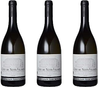 [3本まとめ買い] コート・ド・ニュイ・ヴィラージュ 白 (Cote de Nuits Villages Blanc) 2019年 ドメーヌ・シルヴァン・ロワシェ フランス コート・ド・ニュイ・ヴィラージュ 白ワイン 辛口 シャルドネ 750ml