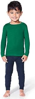 LAT Sportswear Rabbit Skins 5.0 Oz. 100% Combed Ringspun Cotton Toddler Ling Sleeve Baby Rib Pajama Top