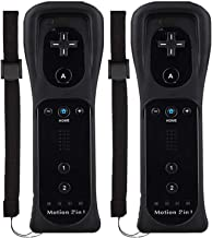 Wii Remote Controller (2 Pack) with Motion Plus Compatible with Wii and Wii U Console | Wii Remote Controller with Shock F... photo