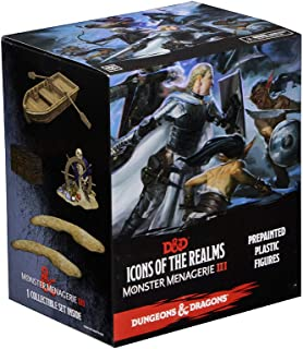 WizKids Dungeons and Dragons: Icons of The Realms: Monster Menagerie 3 - Pre Painted Plastic Figures Booster Box