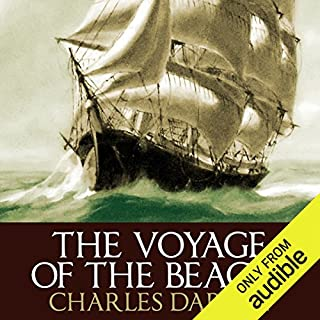 The Voyage of the Beagle                   By:                                                                                                                                 Charles Darwin                               Narrated by:                                                                                                                                 Barnaby Edwards                      Length: 25 hrs and 17 mins     108 ratings     Overall 4.5