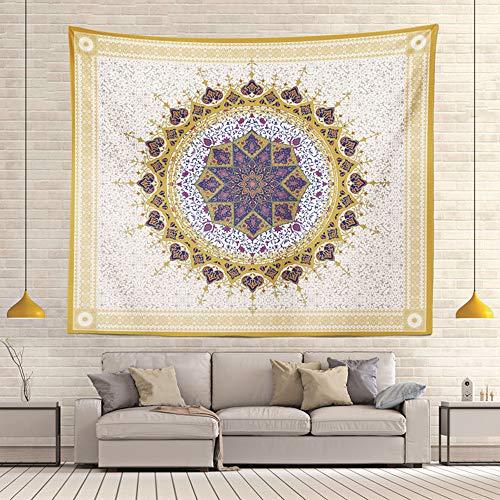 LOVE-CUSHION geometrisch patroon Mandala wandkleed, slaapkamer woonkamer Yoga opknoping doek achtergrond doek gordijn gordijn gordijn muur gordijn