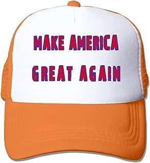 Make America Great Movement Cap Dyed Cap Orange
