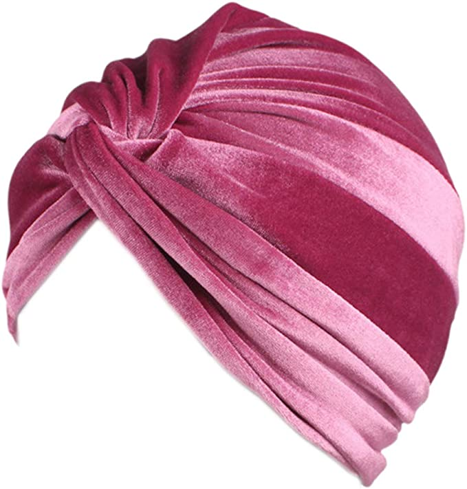 1920s Hat Styles for Women – History Beyond the Cloche Hat Surkat African Pleated Twist Turban Headwrap Stretch Indian Hair Loss Hat Beanie for Women  AT vintagedancer.com