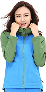 Topsky 远行客 春秋新款女款 户外保暖软壳衣复合抓绒防风软壳外套 10736