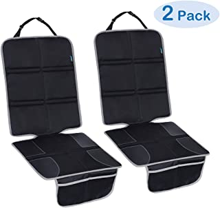 JOYSKY Car Seat Protector, 2 Pack Seat Protector Auto Seat Cover Mat for Child Seats with Thickest Padding and Large Coverage, Protecting Your Leather and Cloth Upholstery