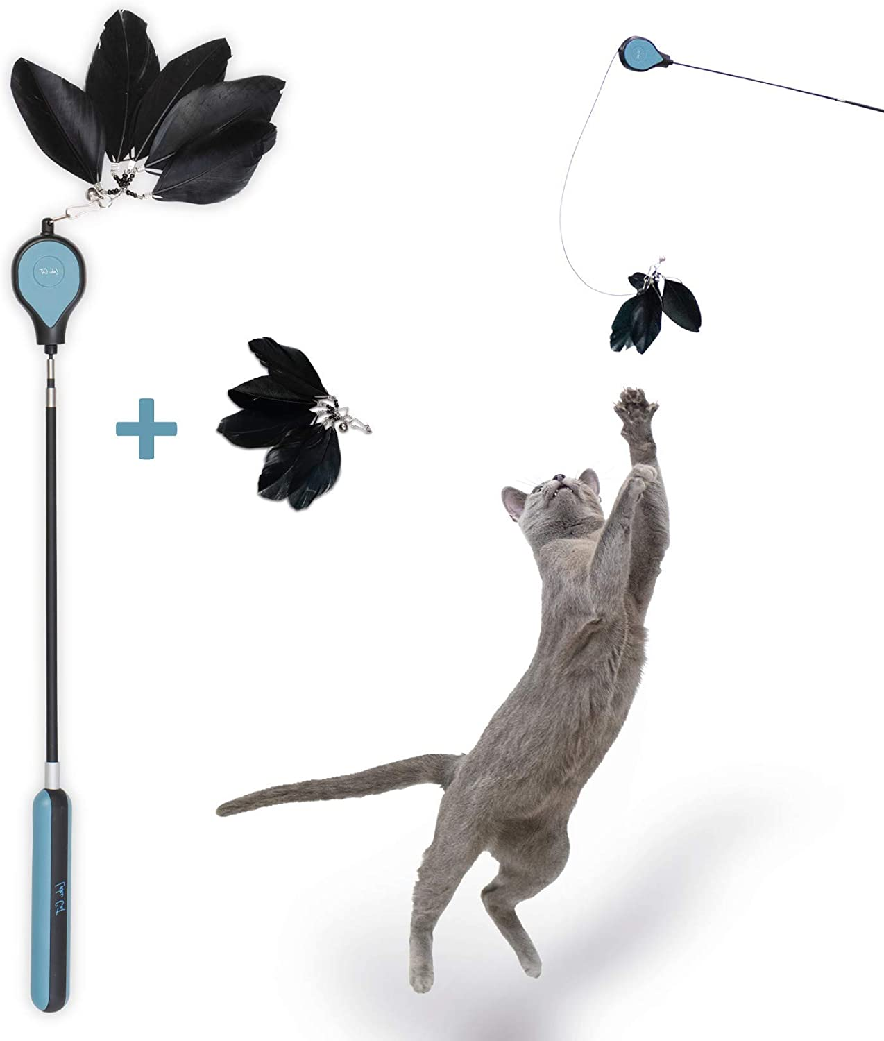 Laki Weekly update Cat 3 Max 59% OFF Section Luxury Teaser - 1 Toy Feather Refill with