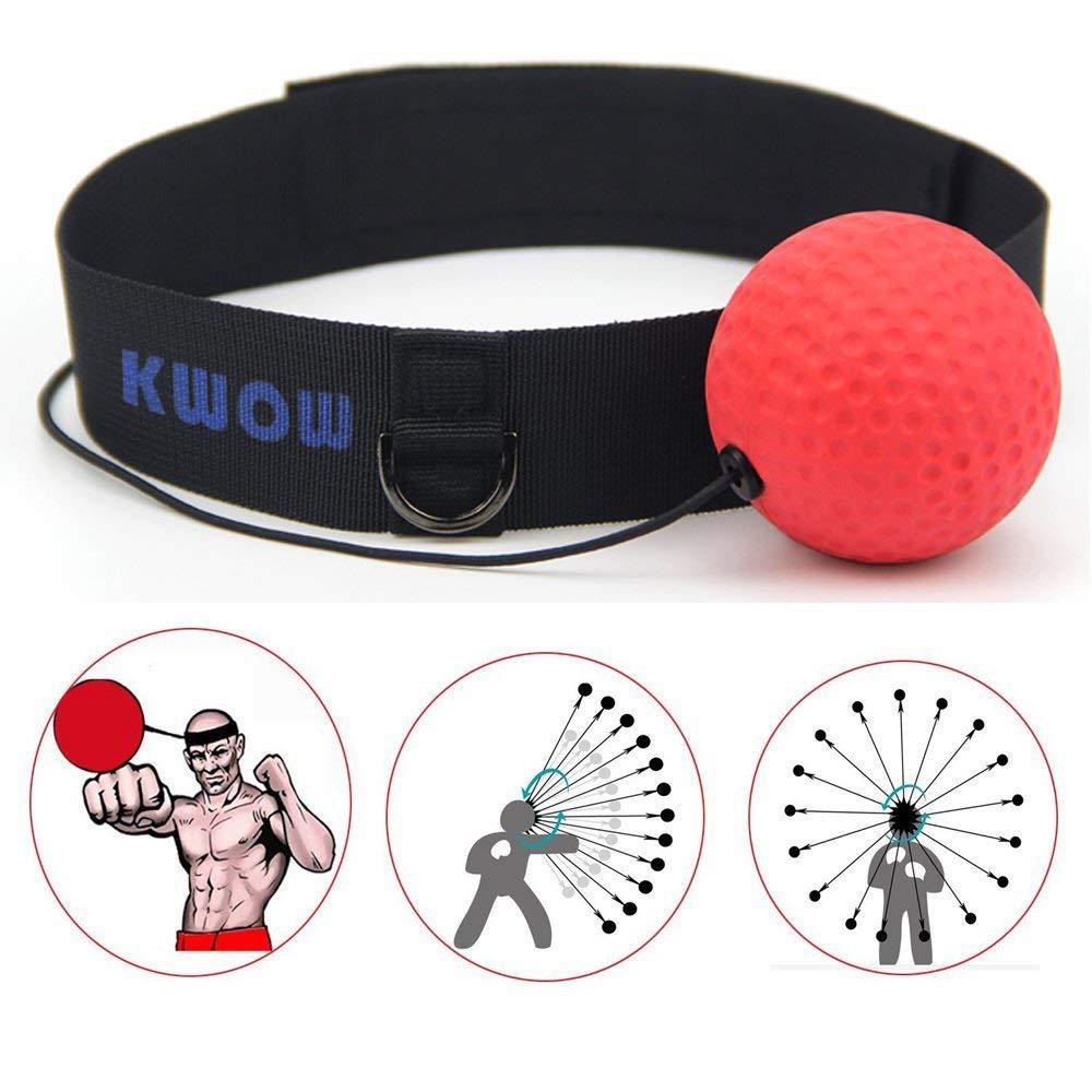 KWOW - Cinta para la cabeza con pelota de boxeo, portátil, para ...