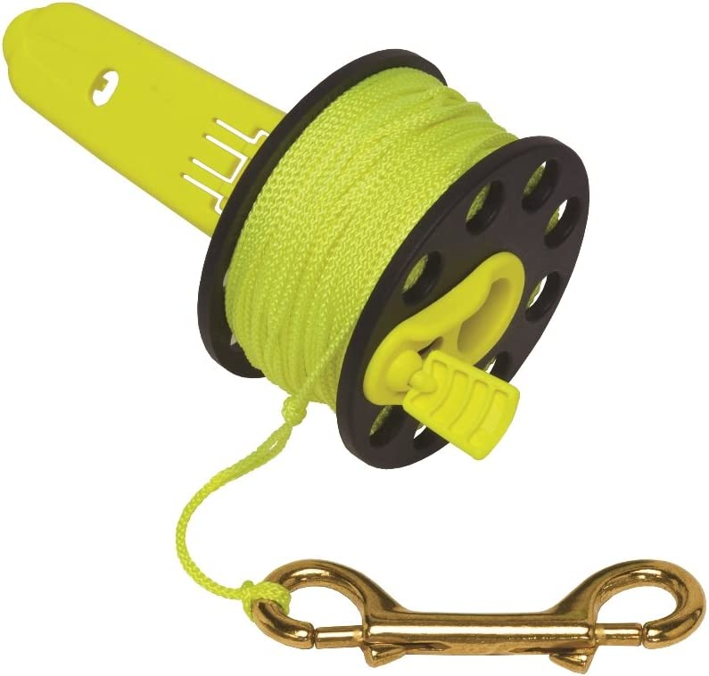 Innovative Scuba Finger Spool With Hand Brass - And Genuine Clip Winder Now on sale