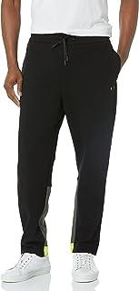 ARMANI EXCHANGE Black/Truffle/Acid L Sweatpants Pantaloni Sportivi Uomo