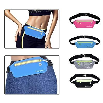 IdealHouse Ultra-Thin Waist Running Belt, Runne...