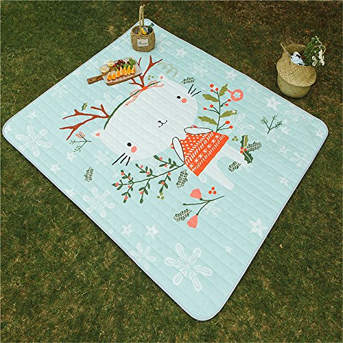MONEYY The Picnic mat red and white format outdoor portable moisture pad tent picnic the picnic camping mats 300*411cm