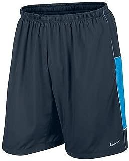 Nike Warm-Up Shorts Small Navy Blue