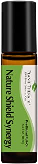 Plant Therapy Nature Shield Essential Oil Synergy - Natural Insect Repellent Blend 100% Pure, Pre-Diluted Roll-On, Natural Aromatherapy, Therapeutic Grade 10 mL (1/3 oz)