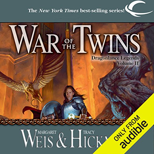 War of the Twins     Dragonlance: Legends, Book 2              By:                                                                                                                                 Margaret Weis,                                                                                        Tracy Hickman                               Narrated by:                                                                                                                                 Ax Norman                      Length: 13 hrs and 53 mins     12 ratings     Overall 4.8