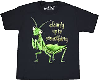 Praying Mantis- Clearly Up to Something Youth T-Shirt