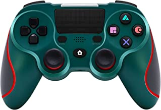 $49 » KJYT Wireless Game Controller Compatible with Playstation 4 System, for PS4 Console with Double Shock and Charging Cable B