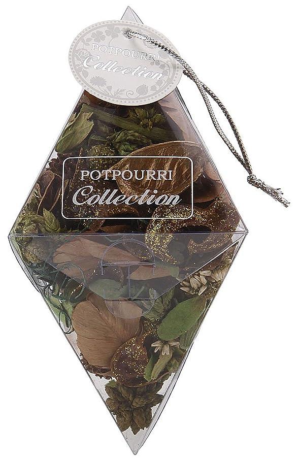 軸ピッチフラグラントポプリコレクション ダイヤモンド グリーン Holiday Forest