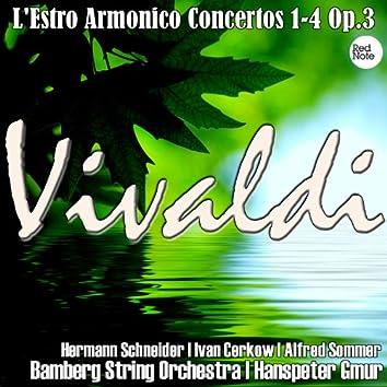 Vivaldi: L'Estro Armonico Concertos 1-4 Op.3