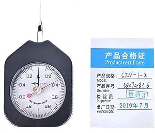 Medidor de tensión, medidor de tensión de Chacerls, tipo de puntero de plástico, medidor de tensión de agujas dobles, medidor de dial analógico, herramienta de medición(SZN-1-2)