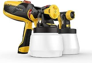 WAGNER Farbsprühsystem W 590 FLEXiO für Dispersions-/Latexfarben, Lacke & Lasuren im Innen- & Außenbereich, 15 m²-6 min, Behälter 1300 ml/800 ml, 630 W