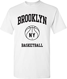 Classic Basketball Arch Basic Cotton T-Shirt