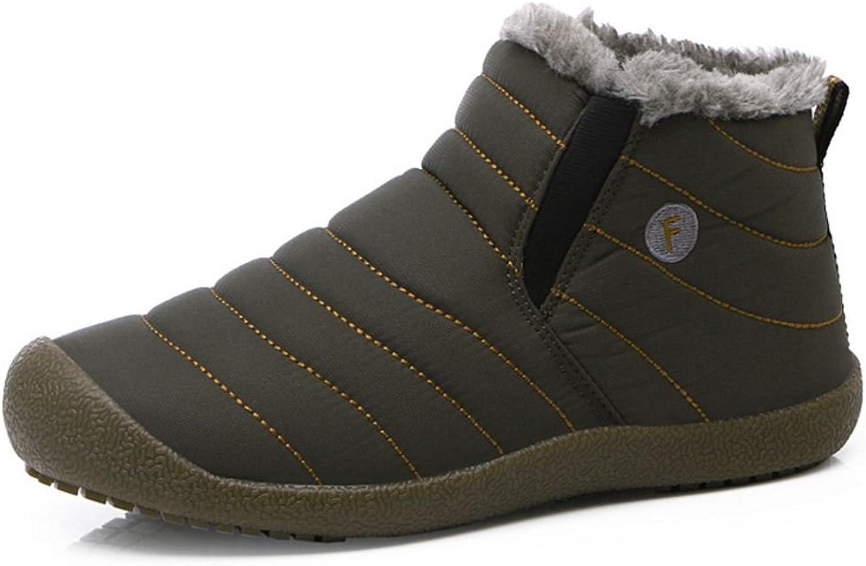 KemeKiss Couple shoes Inner Warm Winter Boots Slip On