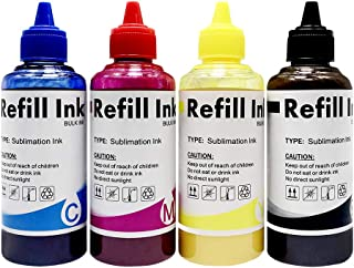 Subnnur Sublimation Ink for C88 C88+ WF7710 WF7720 WF7610 WF7110 WF7210 WF2750 WF3640 WF3610 WF3540 WF2760 ET2650 Heat Press Transfer for CISS on Mugs, Polyester Shirts, Phone Cases etc