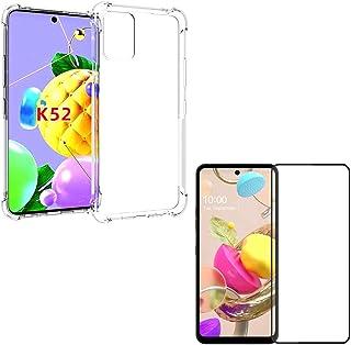Capa Anti Shocks LG K52 + Película 5D Cobertura 100% Tela + Kit Aplicação