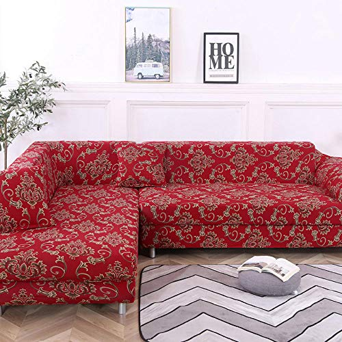 Allenger Forro de Sofá Doméstico,Funda de sofá elástica Antideslizante, Funda de cojín de sofá Universal para Todas Las Estaciones, Funda a Prueba de Polvo para Muebles sofá-Color 37_90-140cm