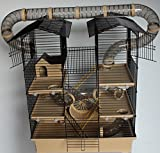XXL Hamsterburg Hamsterkäfig Mäusekäfig mit Röhrensystem