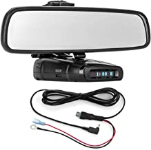 $39 Get Radar Mount Mirror Mount Bracket + Direct Wire Power Cord for Whistler Radar Detectors (3001208)