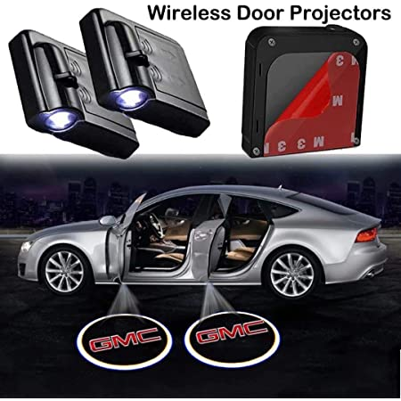 FGHN Car Door Welcome Light 2 Pack Wireless Car Door Led Welcome Projector Logo Ghost Shadow Night Light Car-styling Door Courtesy Lamp Suitable for Lexus Cars