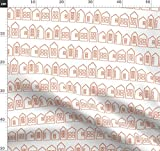 Häuser, Schwedisch Stoffe - Individuell Bedruckt von