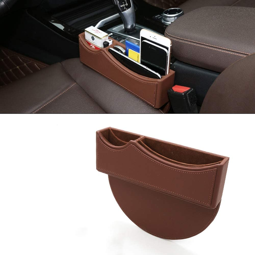 Car Fort Worth Mall Seat Pocket Organizer with Console Max 80% OFF Sto Side Compartment