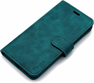 HTC U11 Plus Case,Tisuns HTC U11+ Leather Case, Flip Folio Book Case, Money Pouch Wallet Cover with Kick Stand for HTC U11+ / HTC U11 PLUS Green 6.67798E+11