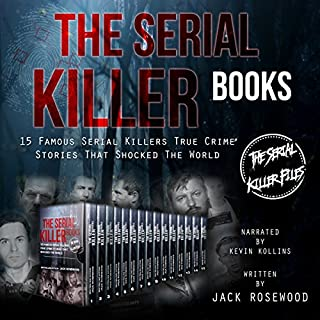 The Serial Killer Books cover art