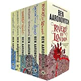 Rivers of London 6 Books Collection Set by Ben Aaronovitch (Rivers of London, Moon Over Soho, Whispers Underground, Broken Homes, Foxglove Summer & The Hanging Tree)