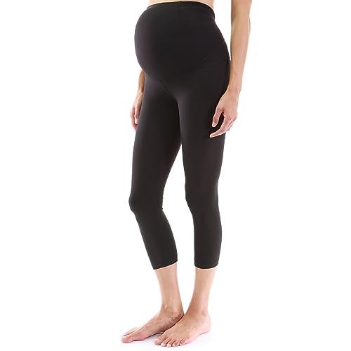 a4e9f43966be9 PattyBoutik Mama Shaping Series Maternity Crop Legging Yoga Pants