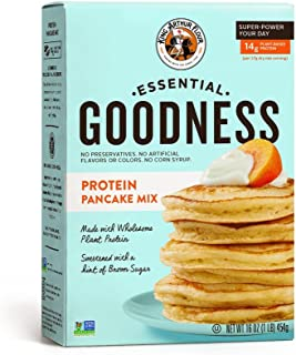 King Arthur Flour Protein Pancake Mix, Non-GMO, 6 Count