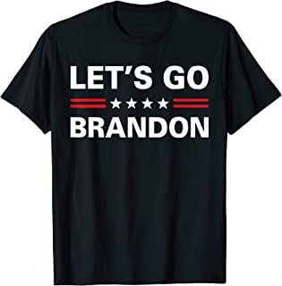 Let's Go Brandon Conservative US Flag Gift T-Shirt
